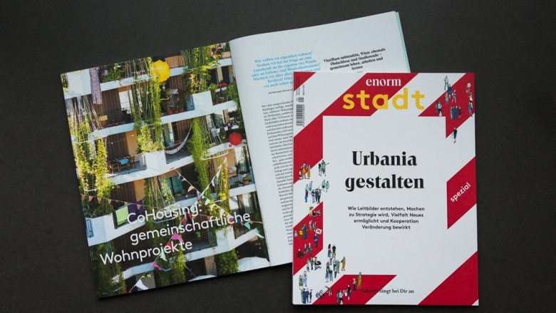 enorm stadt – Launch-Abend